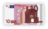 Billete de 10 euros