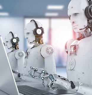 Robots trabajando
