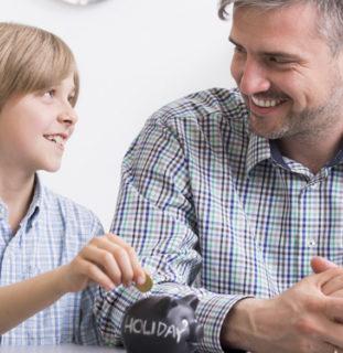 Niños y ahorro