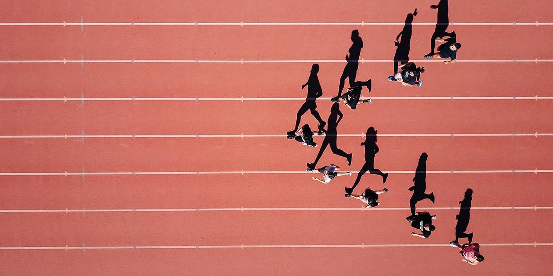 Corriendo en la misma dirección